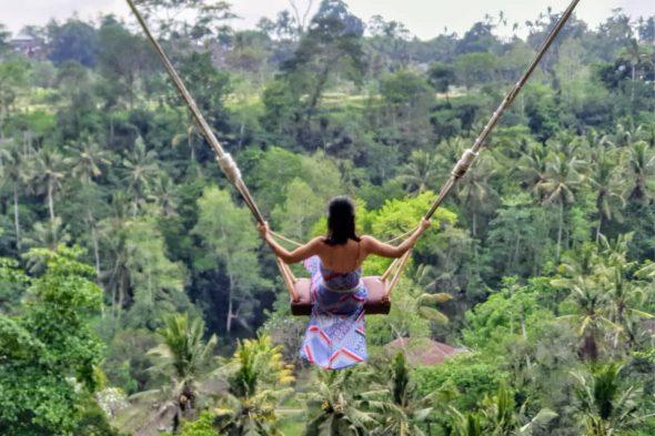 Real Bali Swing - White Water Rafting Ubud Tour